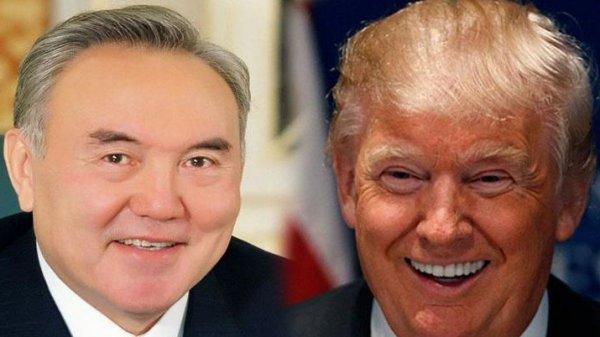 Нурсултан Назарбаев поздравил Дональда Трампа с победой