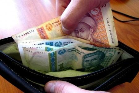 В Таджикистане самый низкий показатель среднемесячной зарплаты по СНГ