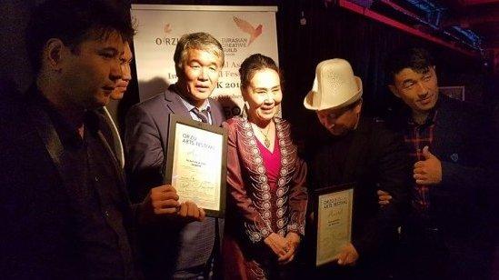 Кыргызский спектакль «Суфлер» получил гран-при лондонского театрального фестиваля