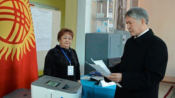 ВКиргизии начался конституционный референдум