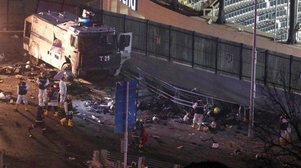 Группировка «Ястребы свободы Курдистана» взяла на себя ответственность за теракт в Стамбуле