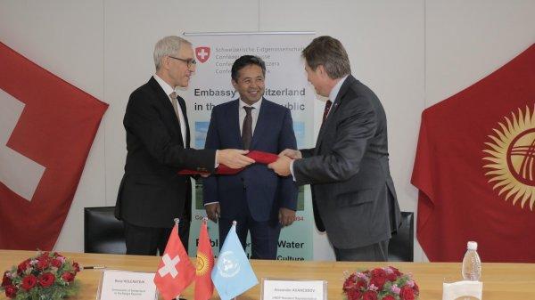 Швейцария подчеркивает дополнительное финансирование напроведение выборов вКыргызстане