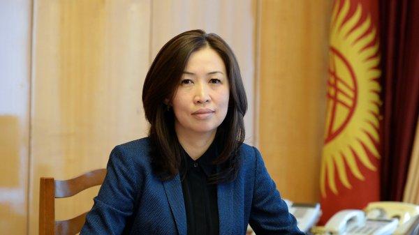 Эльвиру Сариеву назначили заместителем руководителя аппарата президента Кыргызстана