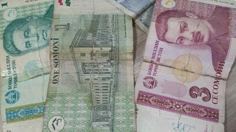Нацбанк Таджикистана заменит все бумажные 1, 3, 5 сомони на монеты