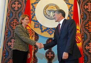 Кыргызстан передал Германии 10 проектов ГЧП и каталог инвестиционных проектов.
