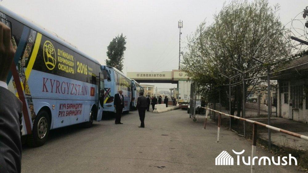 Кыргызская делегация посетила Андижан свизитом дружбы