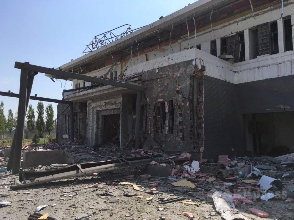 Взрыв посольства Китая в Бишкеке