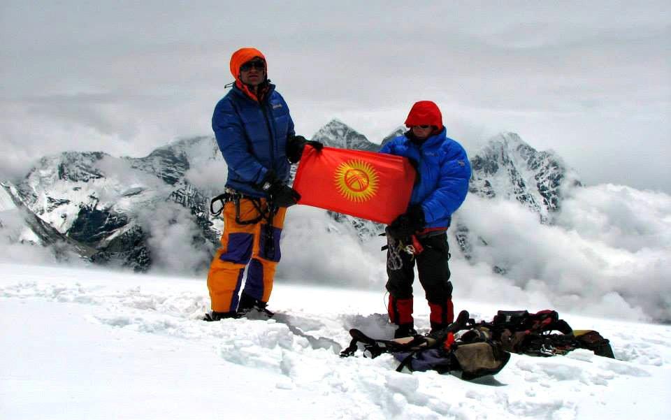 Кыргызстанцы на вершине Ама-Даблам / Фото: Н.Гутник