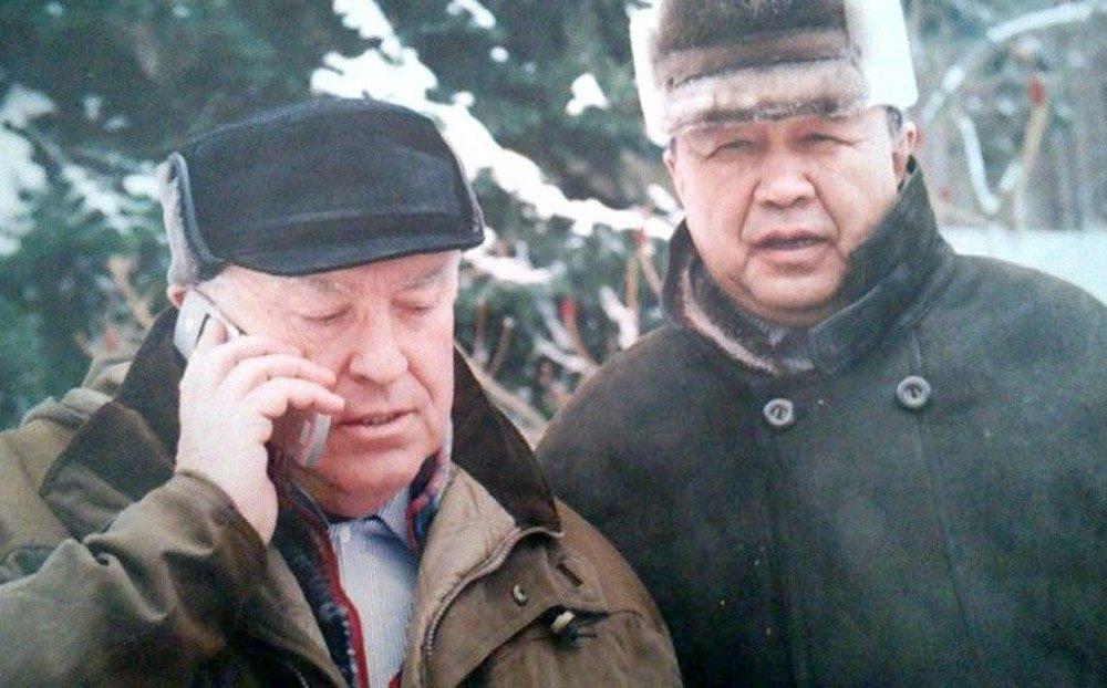 Эсенгул Омуралиев. Виктор Черномырдин