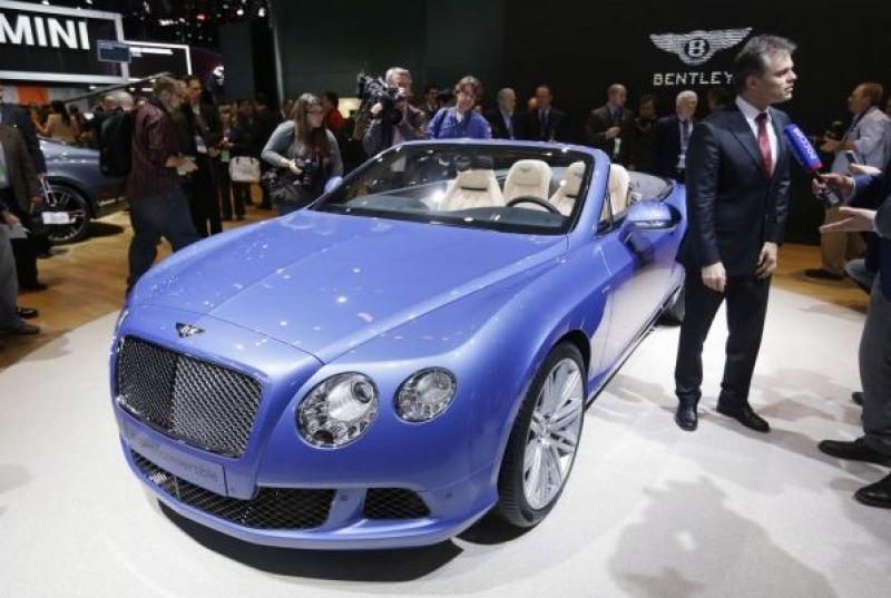 Автосалон в Детройте-2013: Bentley C…