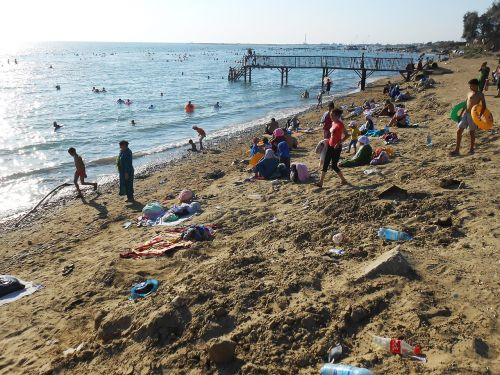 Пляж Каспия