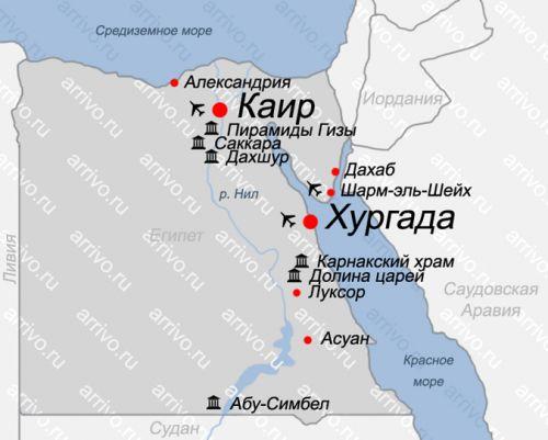египте каир карта