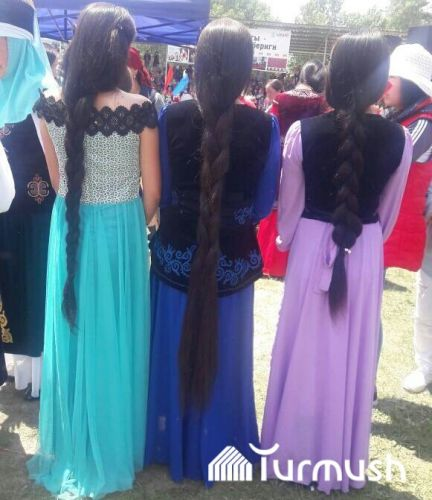Competition among women with longest hair