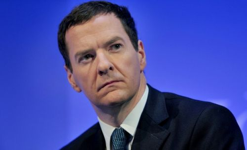 finance minister George Osborne