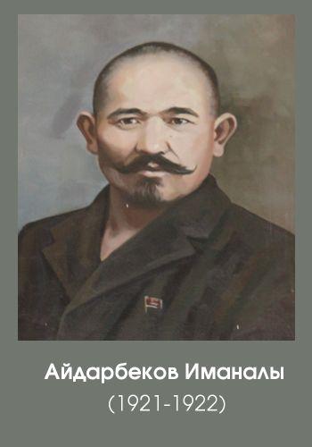айдарбеков иманалы