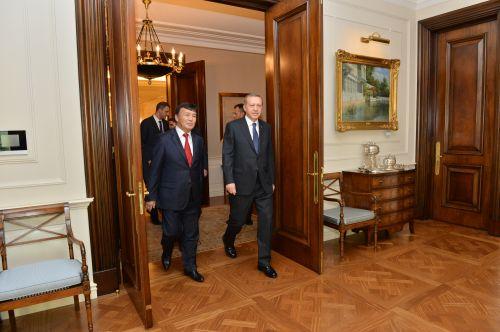 Түркиянын Президенти Режеп Тайып Эрдоган жана Ибрагим Жунусов