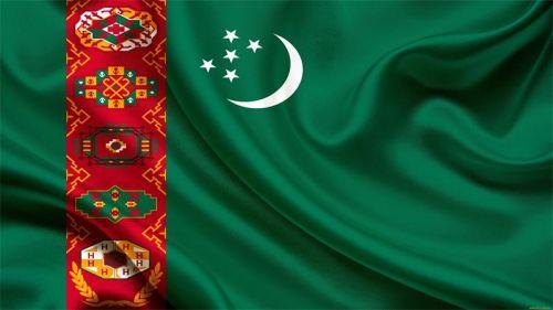 Flag-Turkmenii