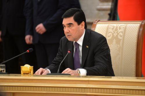 президент туркменистана подписывает