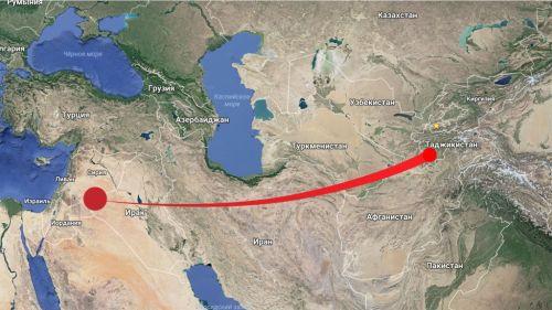 пустыни ближнего востока