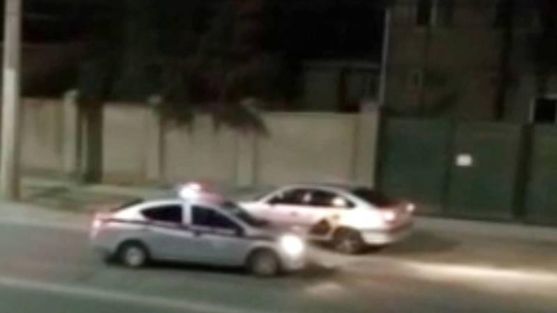 Патрульная милиция ловит нарушителей комендантского часа (видео)