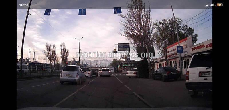На Жибек Жолу - Курманжан Датка несоответствие дорожных знаков и полос будут исправлены, - мэрия