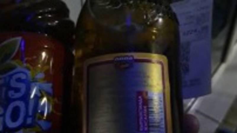 На заправке «Газпром» продают просроченное пиво? - горожанин. Видео