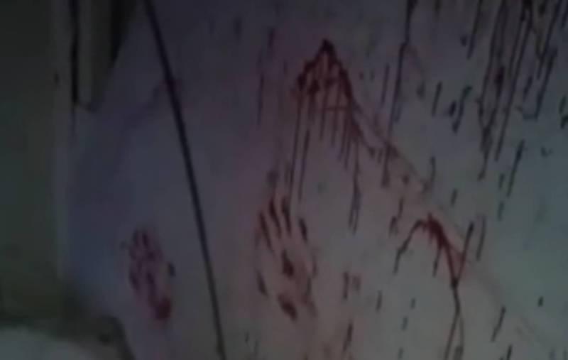 Видео - В сети распространяется видео о кровавой комнате. Где это?