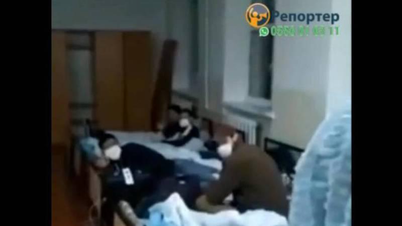 Видео – Реакция кыргызстанцев, получивших отрицательный результат на коронавирус
