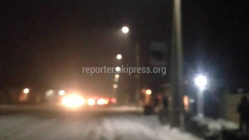 Жители жилмассива Ала-Тоо остались без света