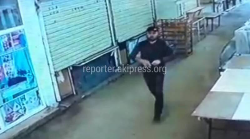 Попытка ограбления банка в Жалал-Абаде. Преступление попало на видео