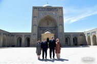 Wrapping up the visit, Erdogan and his spouse completed their trip to Uzbekistan. <br />