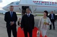 During working visit to Belgium President of Kyrgyzstan Almazbek Atambaev on September 17 held several meetings with senior officials of the European Union.<br />