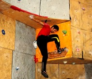 Bouldering is a form of rock climbing that is performed without the use of ropes or harnesses.
