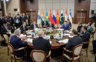 Prime Minister of Kyrgyzstan Sapar Isakov participated in the meeting of Prime Ministers of Shanghai Cooperation Organization in Sochi.