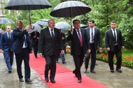The official visit of Lukashenko finished on May 16 evening and headed to Minsk. <br />