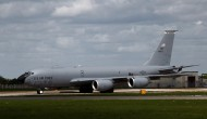 KC-135 Stratotanker with the tail number AMC-38877 that crashed.