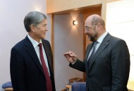 Meeting with European Parliament President Martin Schulz