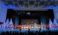 The New Year Party for children with participation of President of Kyrgyzstan Almazbek Atambayev took place December 29, 2016 in Bishkek.