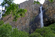 The waterfall is accessible for tourists. It will take 1-1.5 hours to walk from the car parking lot to the waterfall.