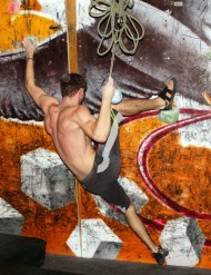 Annual festival of bouldering Up&Up is usually held in early-March.