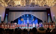 The New Year's performance for children who were invited on behalf of President Sooronbai Jeenbekov is held at the National Philharmonic named after Toktogul Satylganov on December 26.