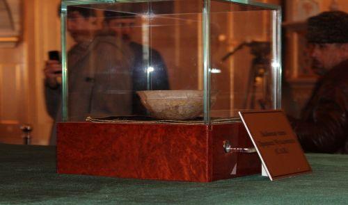 Чаши и волос пророка Мухаммеда привезли в Чечню из Узбекистана