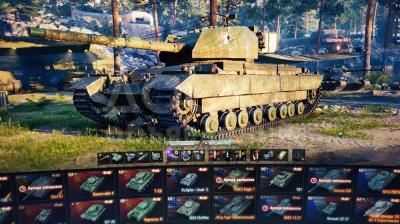 Продаю аккаунт World of Tanks. Wn8-2000. Процент побед 50%. 16000к боёв. 40 танков в ангаре.