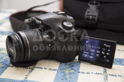 Canon 60D + объектив EF-S 18-55 IS IIl