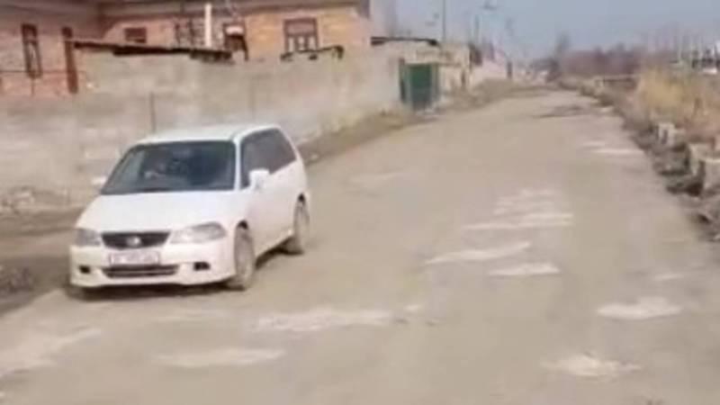 Житель Маевки просит обратить внимание на состояние дорог в селе. Видео