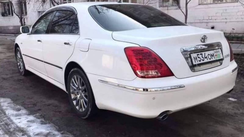Горожанин: В Бишкеке находится много машин с номерами Абхазии. Фото