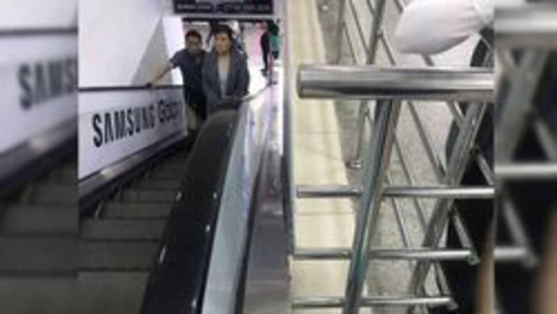 Госэкотехинспекция направила требование в ОАО «ЦУМ Айчурок» организовать контроль за техническим состоянием и безопасной эксплуатацией эскалаторов