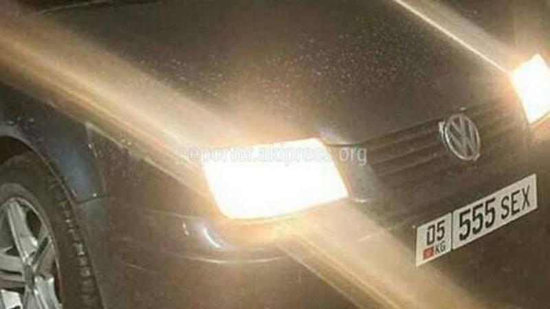 Подложные номера на автомобилях, - бишкекчанин (фото)