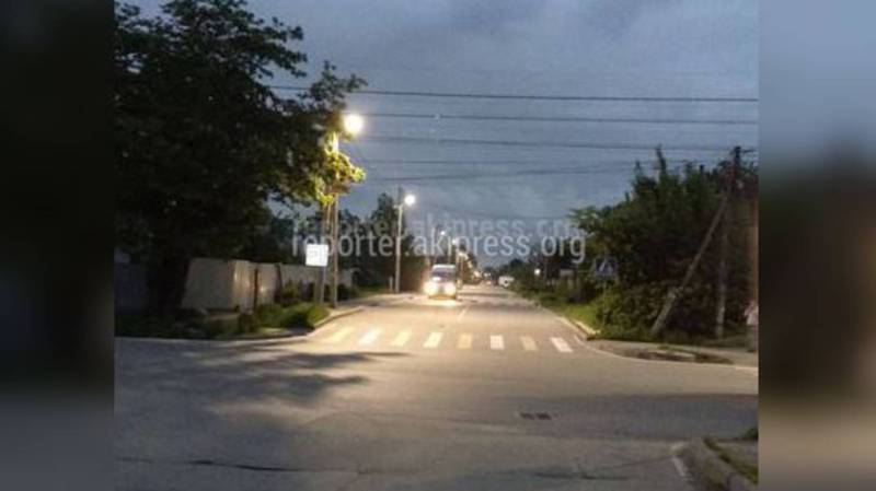На улице Тойгомбаева освещение будет восстановлено, - мэрия