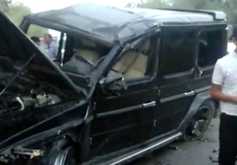В Ноокатском районе столкнулись «Гелендваген» и «ВАЗ 2104» (видео)